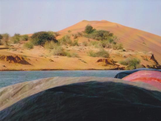 dunes à côté du Niger